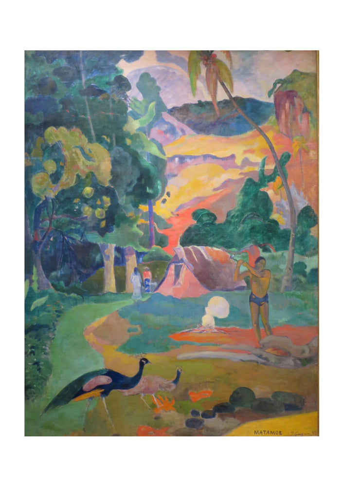 Paul Gauguin - Matamoe Death
