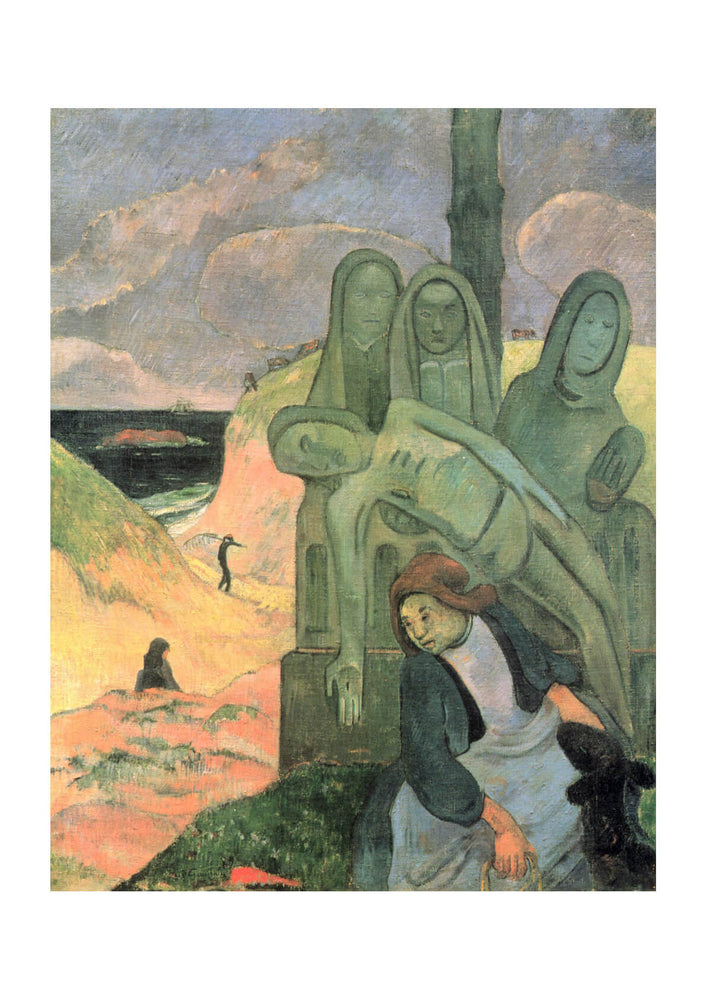 Paul Gauguin - Mourner