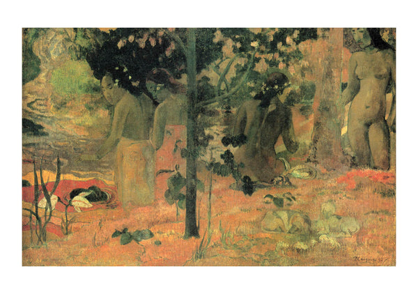 Paul Gauguin - Nudes in the Trees