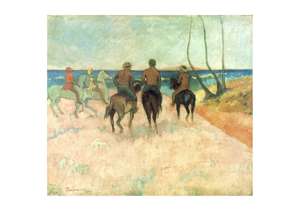 Paul Gauguin - On Horseback