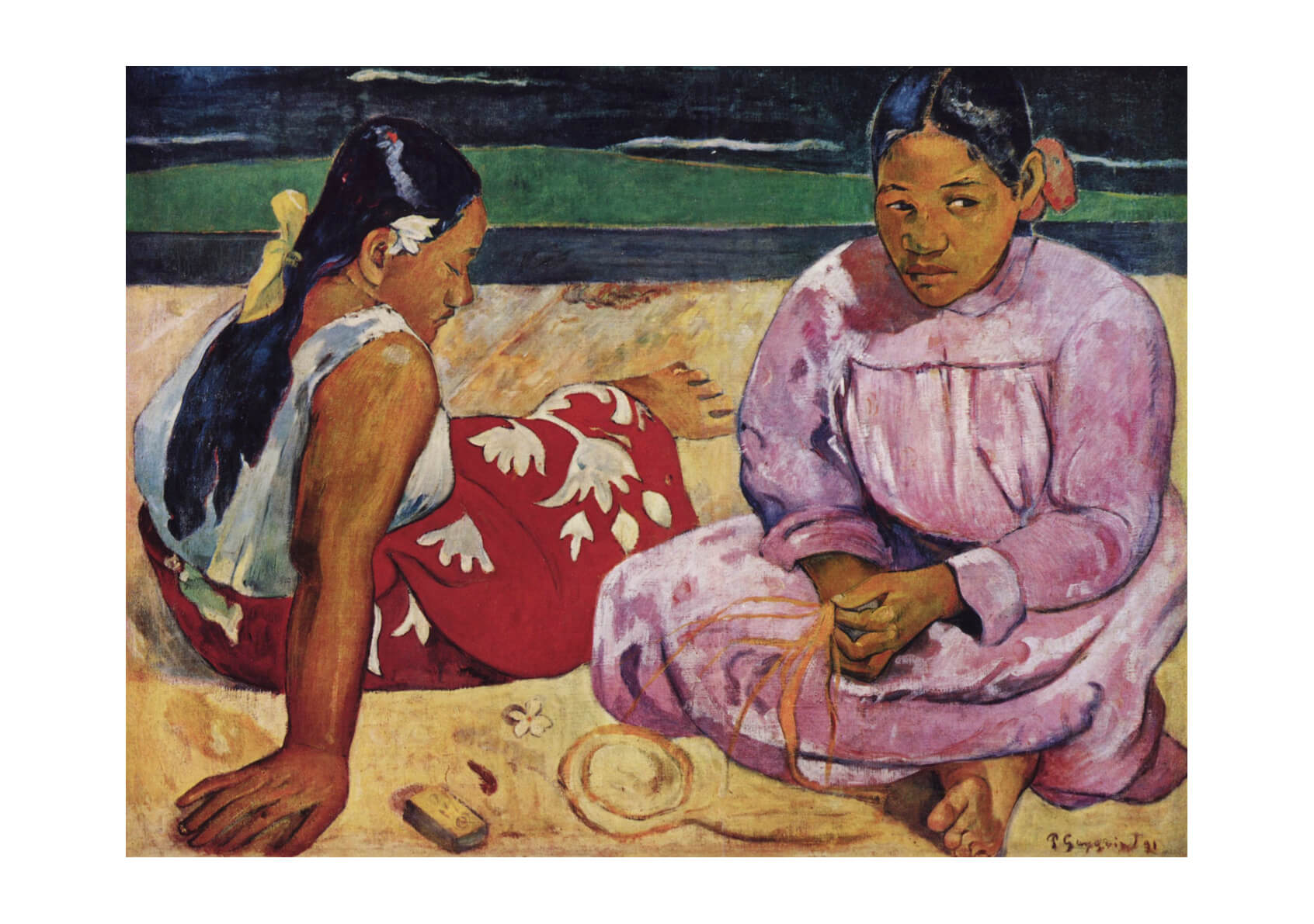 Paul Gauguin - On the Beach