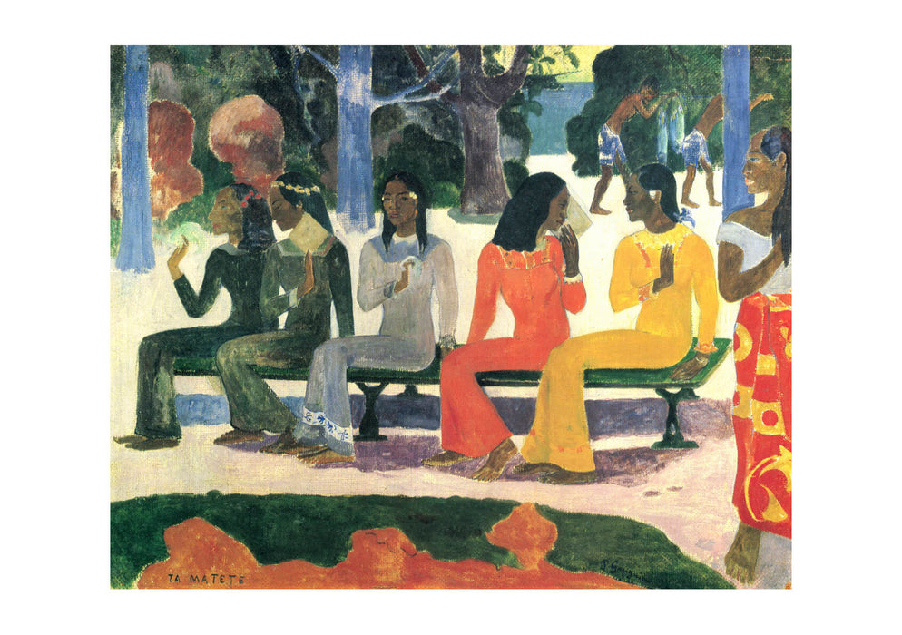 Paul Gauguin - On the Bench
