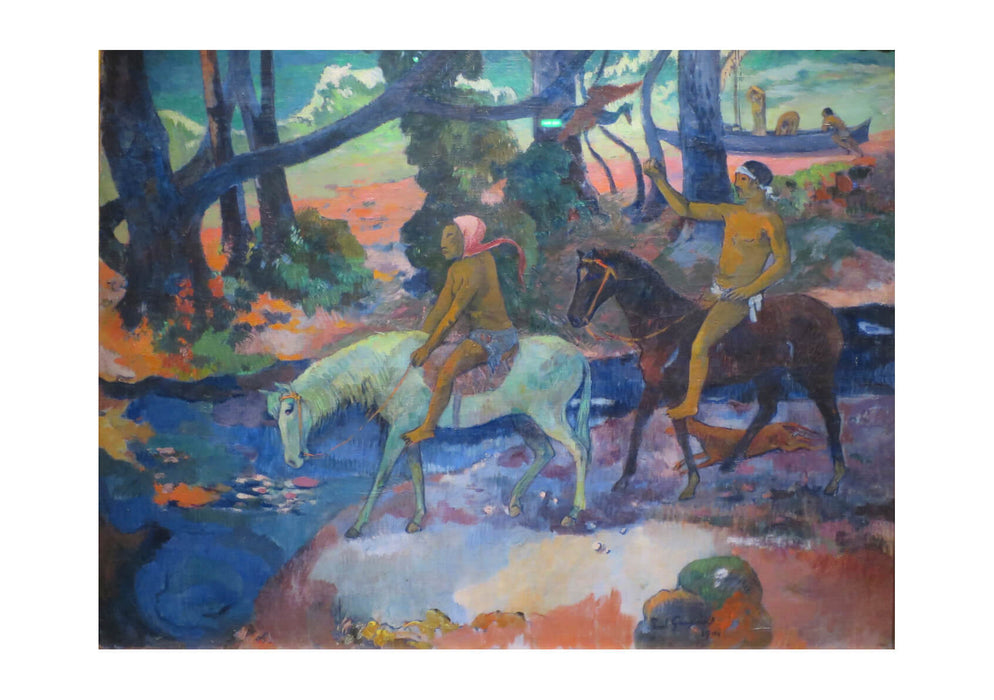 Paul Gauguin - On the Horses