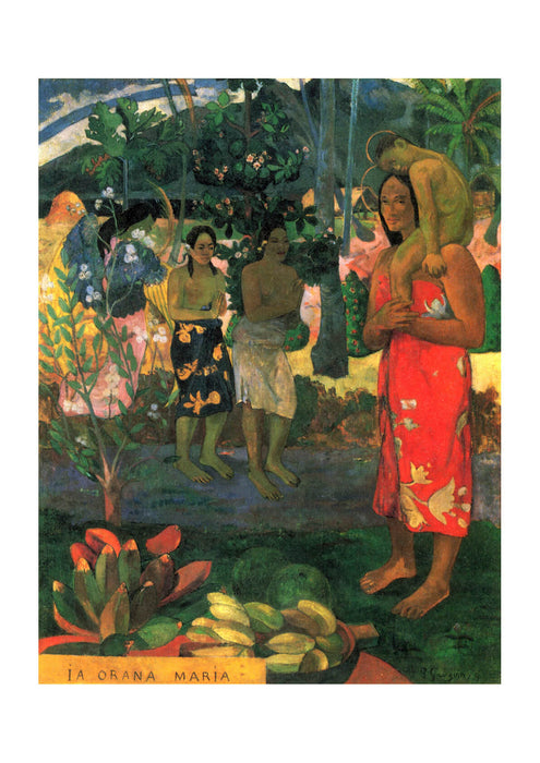 Paul Gauguin - On the Shoulders