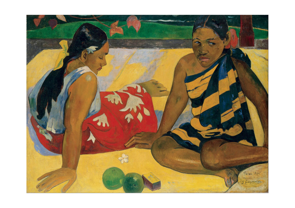 Paul Gauguin - Parau Api. What News