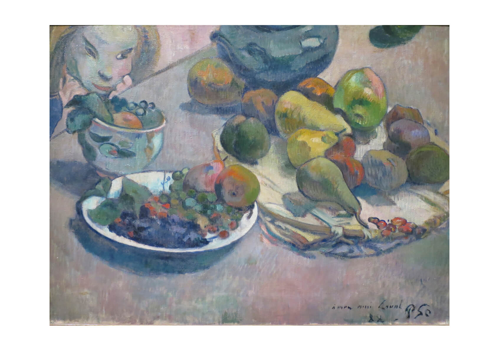 Paul Gauguin - Plates of Fruit
