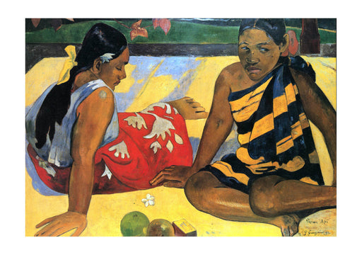 Paul Gauguin - Sitting on Yellow