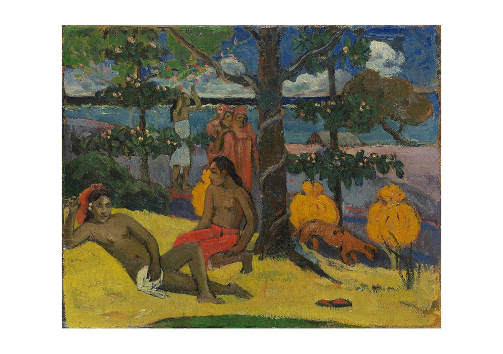 Paul Gauguin - Tahitienne