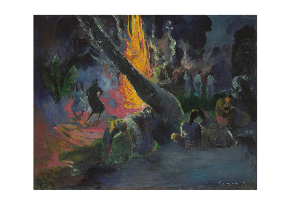 Paul Gauguin - The Fire Dance