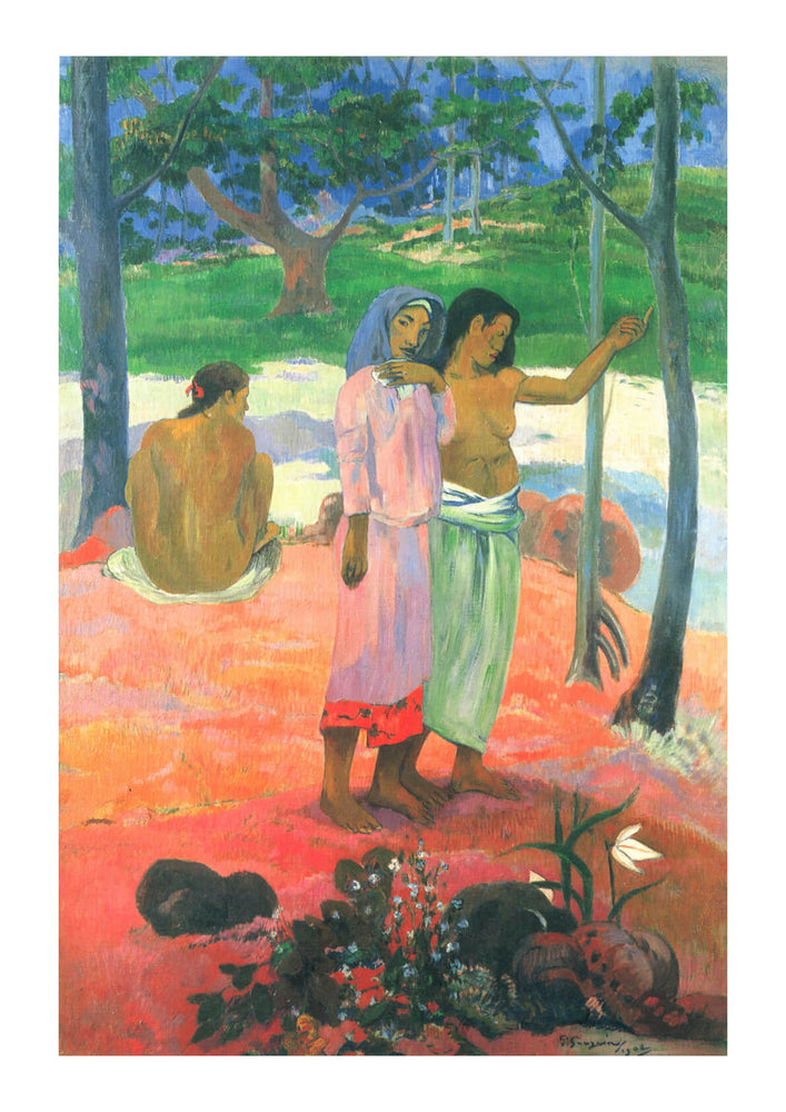 Paul Gauguin - The Talkers