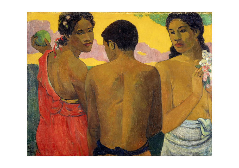 Paul Gauguin - Three Tahitians