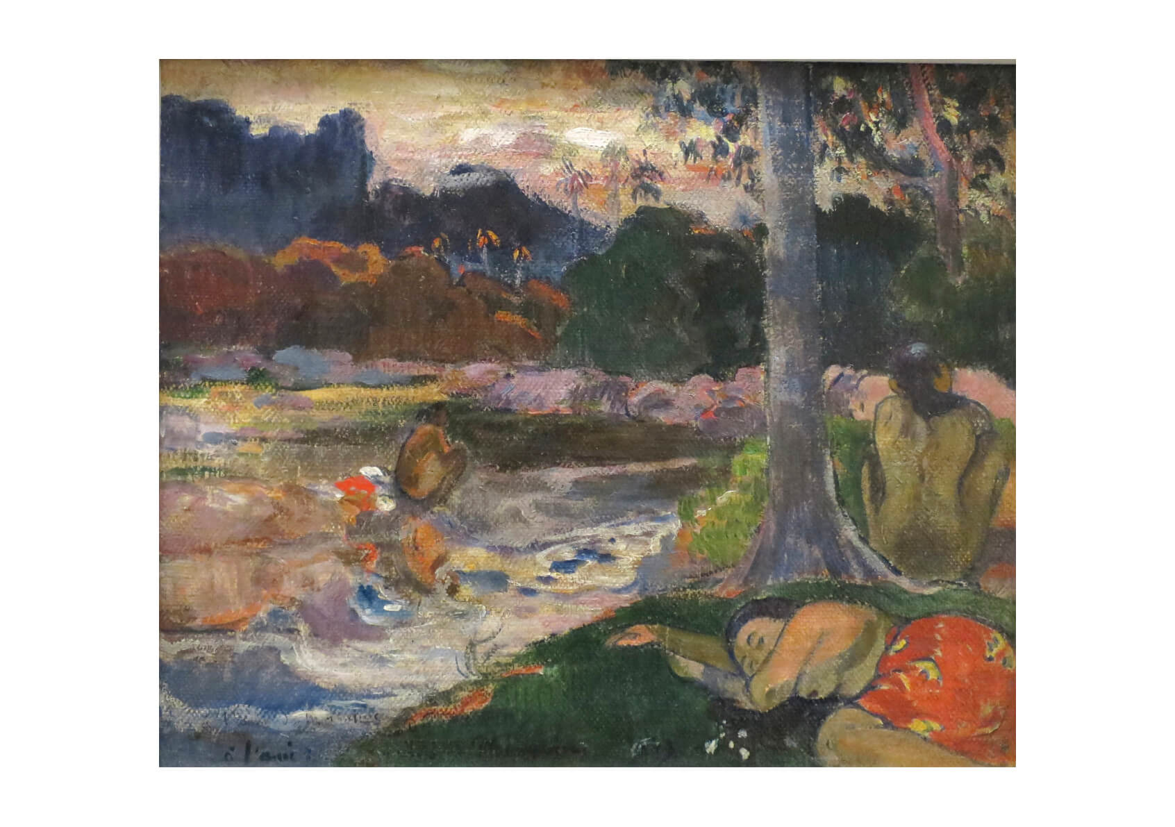 Paul Gauguin - Tree by River