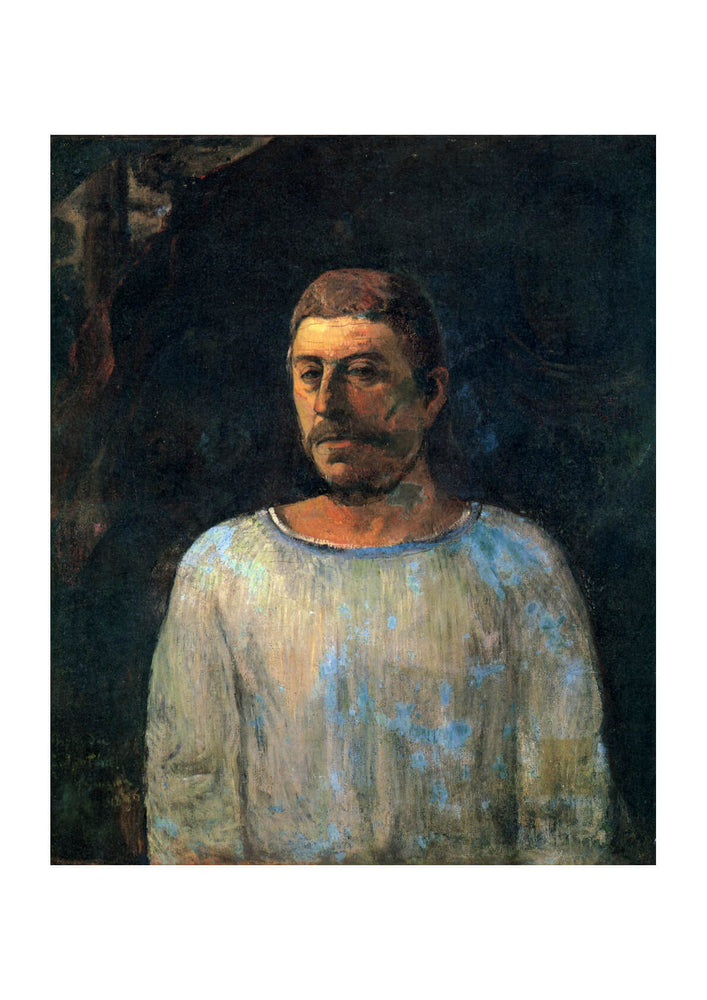 Paul Gauguin - White Portrait