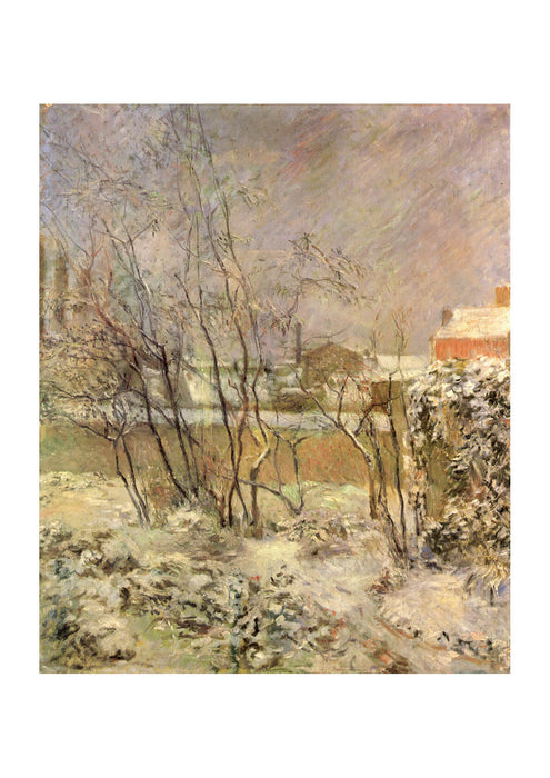 Paul Gauguin - Winter Scene