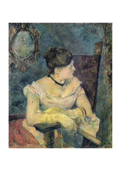 Paul Gauguin - Woman Look over