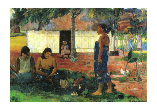 Paul Gauguin - Women in Village