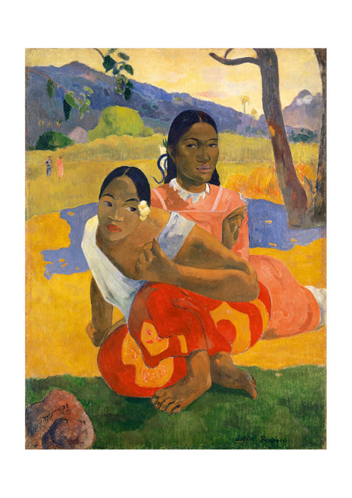 Paul Gauguin Nafea Faaipoipo When are You Getting Married 1892