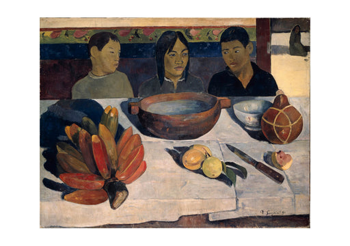 Paul Gauguin The Meal