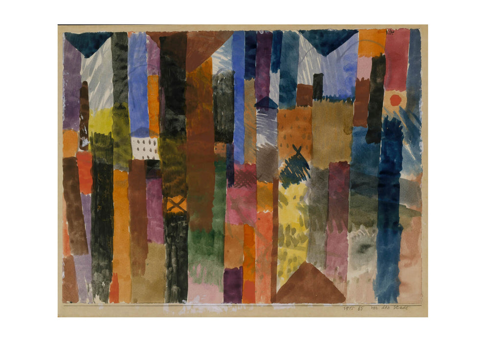 Paul Klee - Before the Town