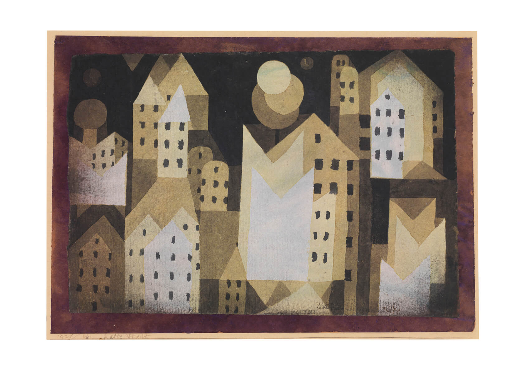 Paul Klee - Cold City