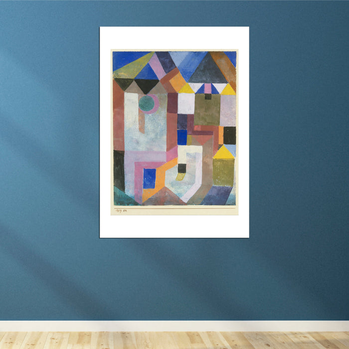 Paul Klee - Colorful Architecture