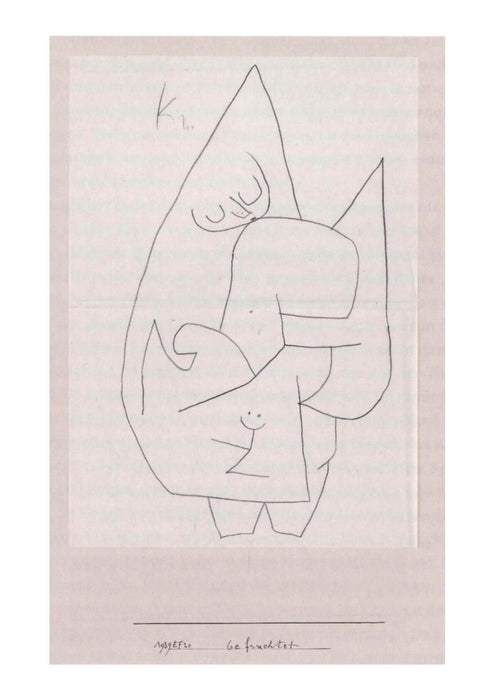 Paul Klee - Engel befruchtet