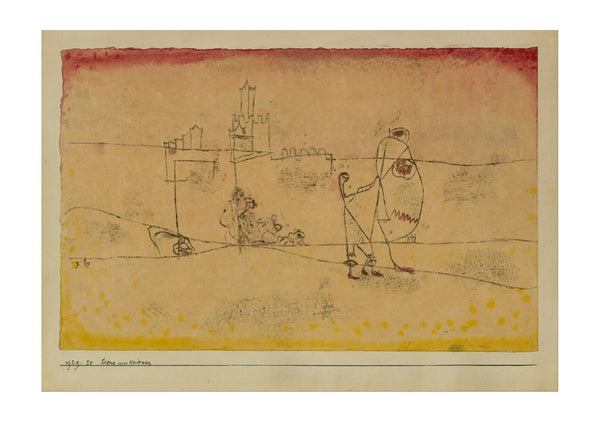 Paul Klee - Episode at Kairouan