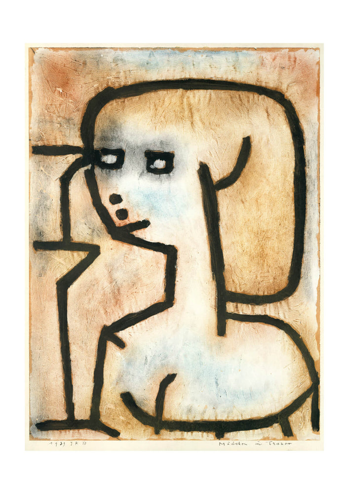 Paul Klee - Girl in Mourning