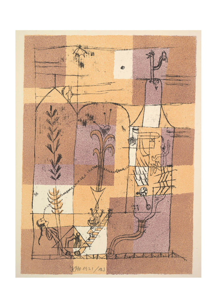 Paul Klee - Hoffmannesque Scene