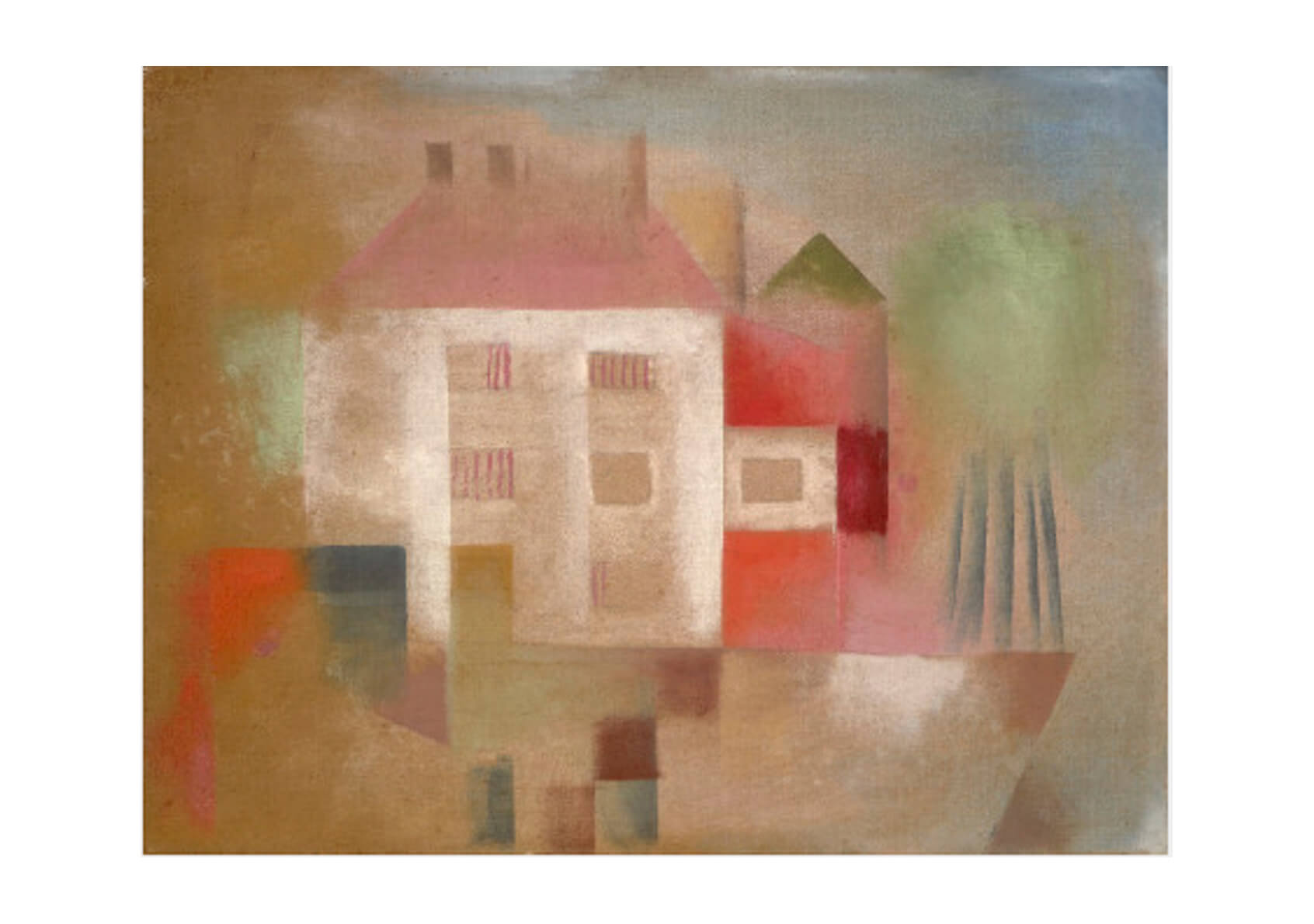 Paul Klee - House in the suburbs