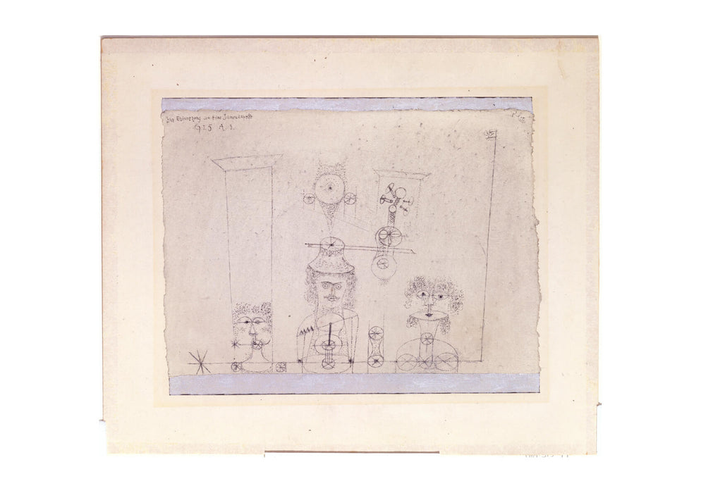 Paul Klee - In Memory of an All-Girl Band