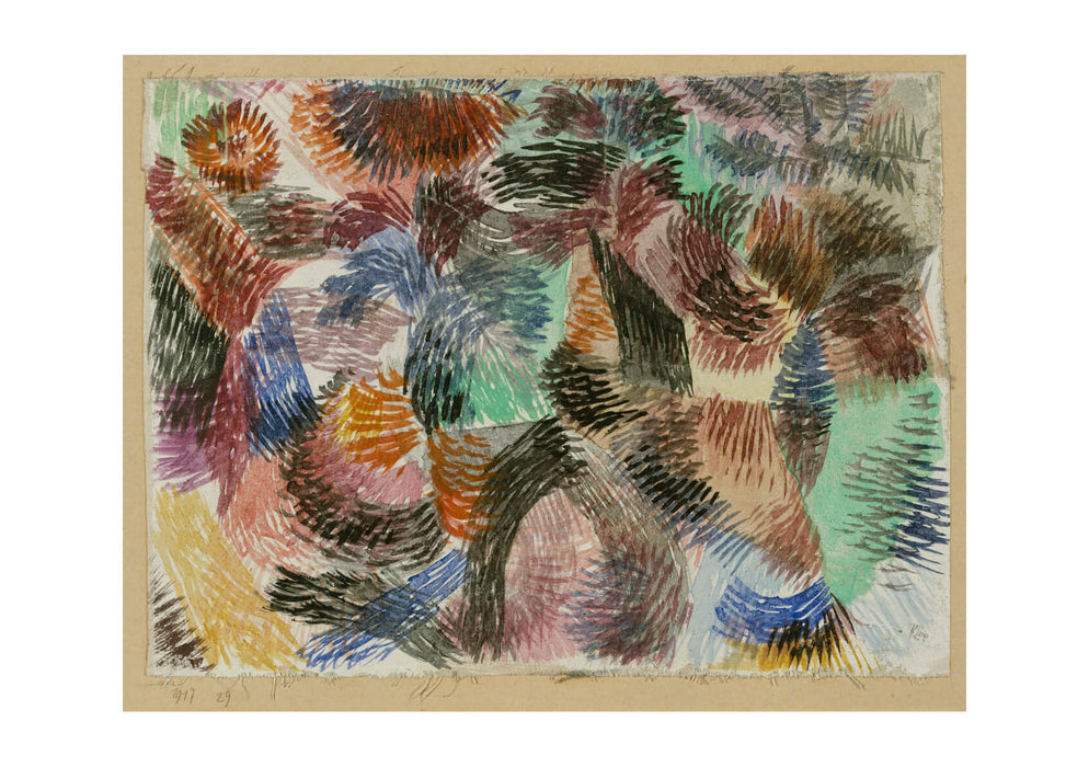 Paul Klee - Libido of the Forest