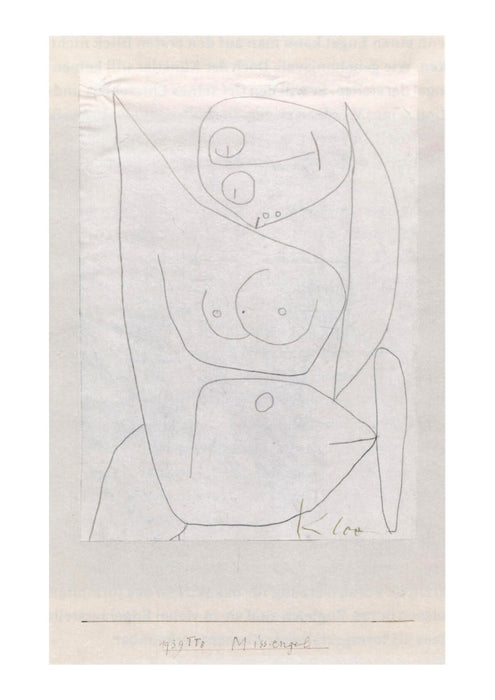 Paul Klee - Miss Engel 1939