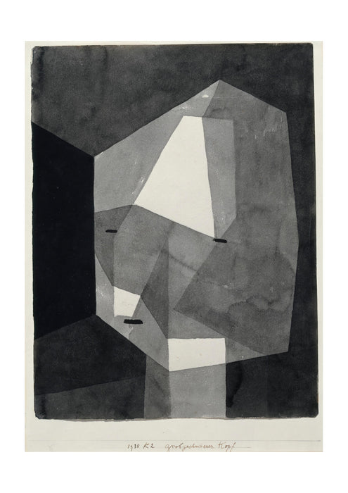 Paul Klee - Rough Cut Head