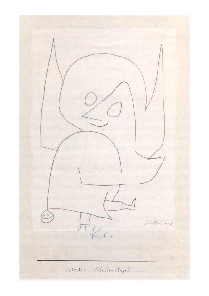 Paul Klee - Schellen-Engel