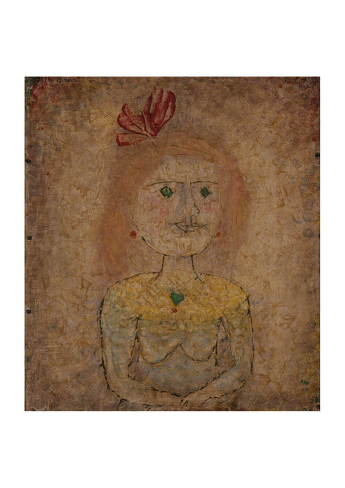 Paul Klee - Small Portrait of a Girl in Yellow II