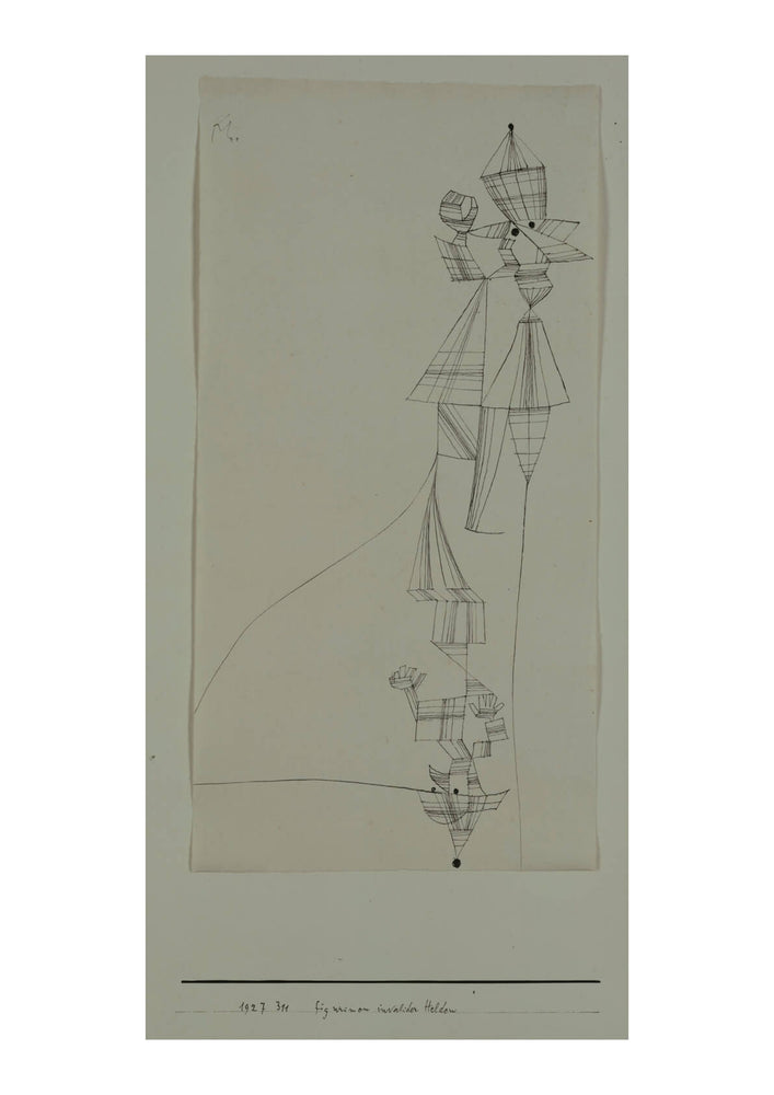 Paul Klee - Statuettes of Disabled War Heroes