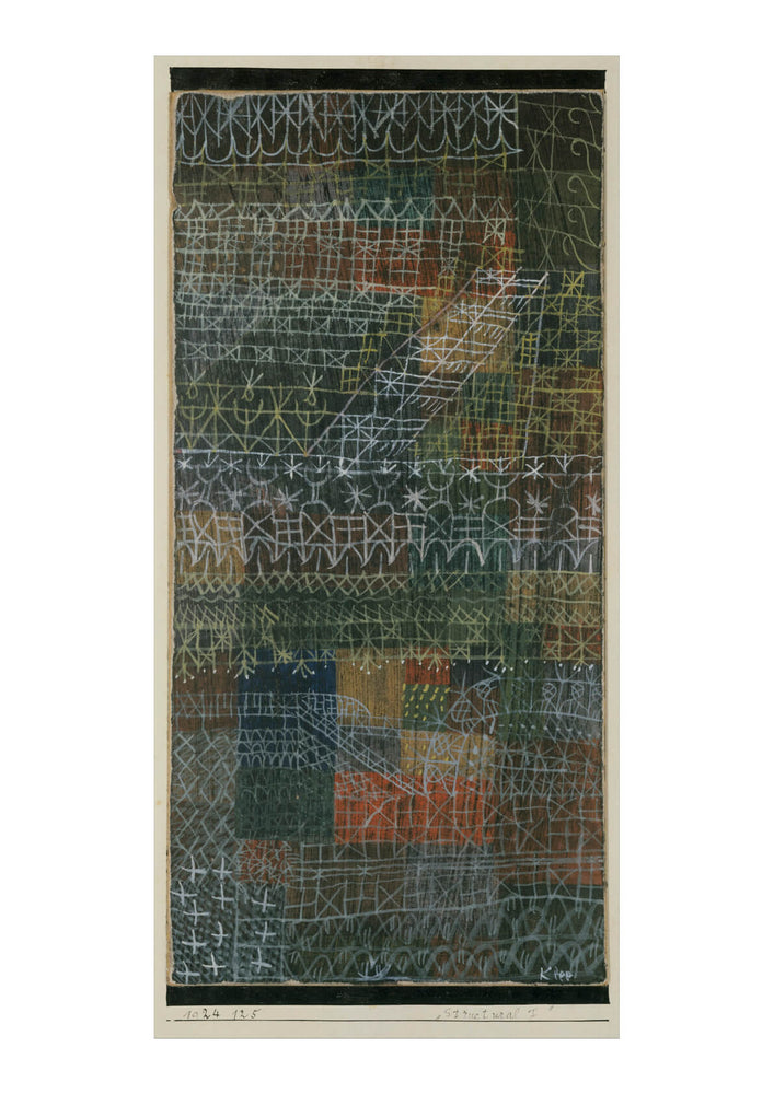 Paul Klee - Structural I