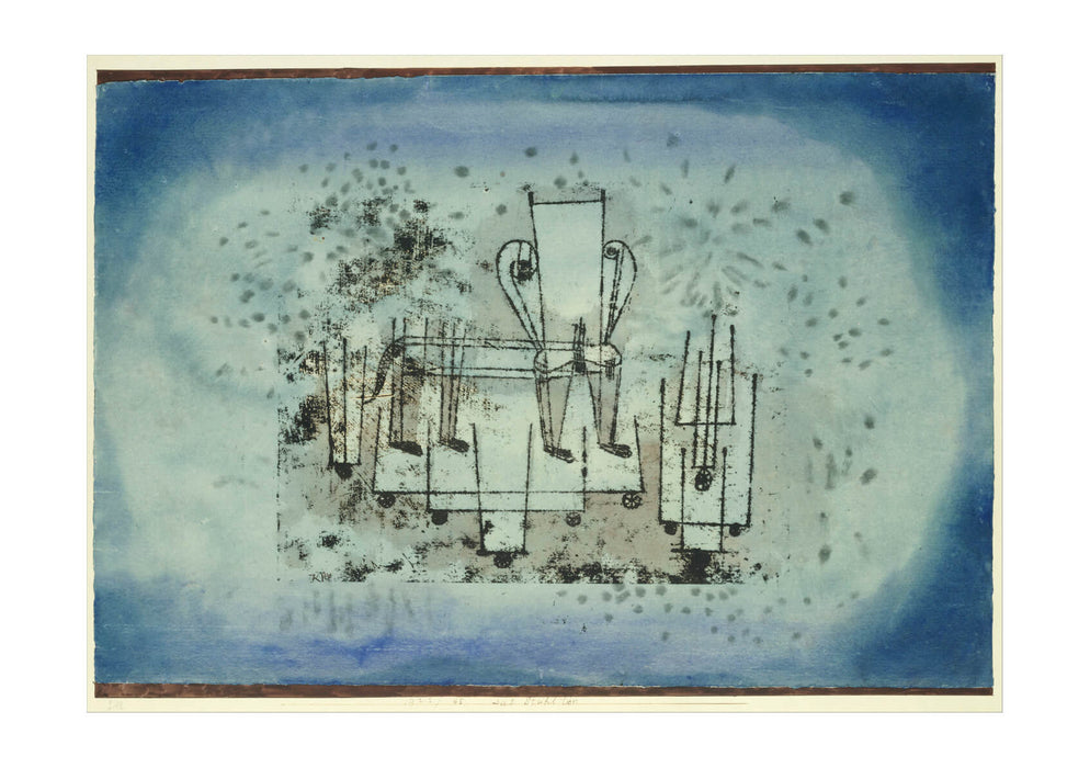 Paul Klee - The Chair Animal