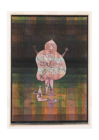 Paul Klee - Ventriloquist & Crier in the Moor