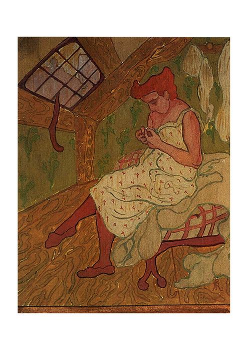 Paul Ranson - Sitting Woman