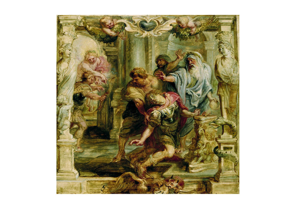 Peter Paul Rubens - Falling from the Altar