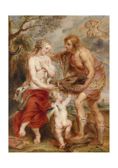 Peter Paul Rubens - Meleager and Atalante