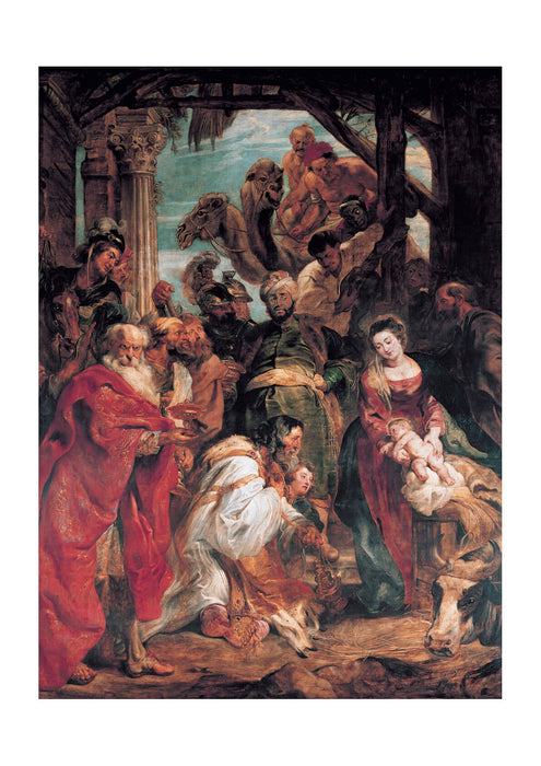 Peter Paul Rubens - The Adoration of the Magi