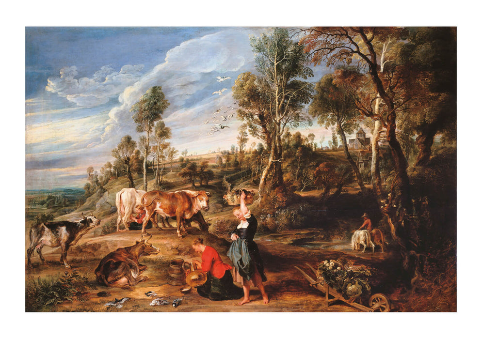 Peter Paul Rubens - The Farm at Laken