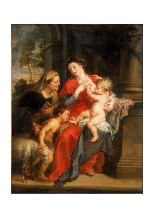 Peter Paul Rubens - The Virgin and Child with Sts Elizabeth