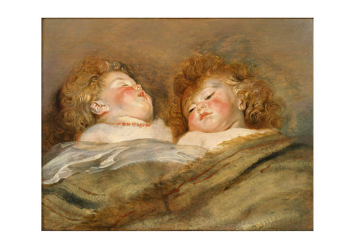 Peter Paul Rubens - Two Sleeping Children