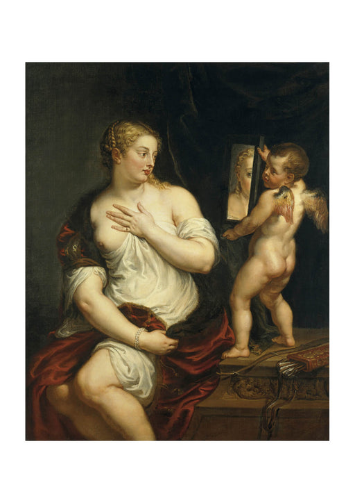 Peter Paul Rubens - Venus and Cupid