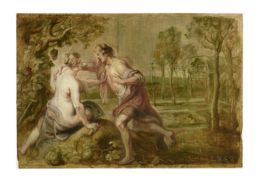 Peter Paul Rubens - Vertumnus and Pomona 1636