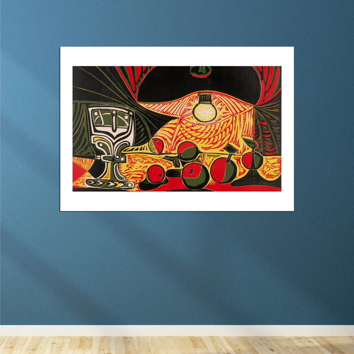 Picasso - Still Life Under The Lamp